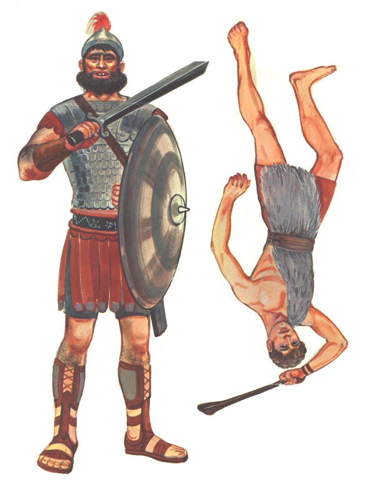 David And Goliath Preschool Craft And Games