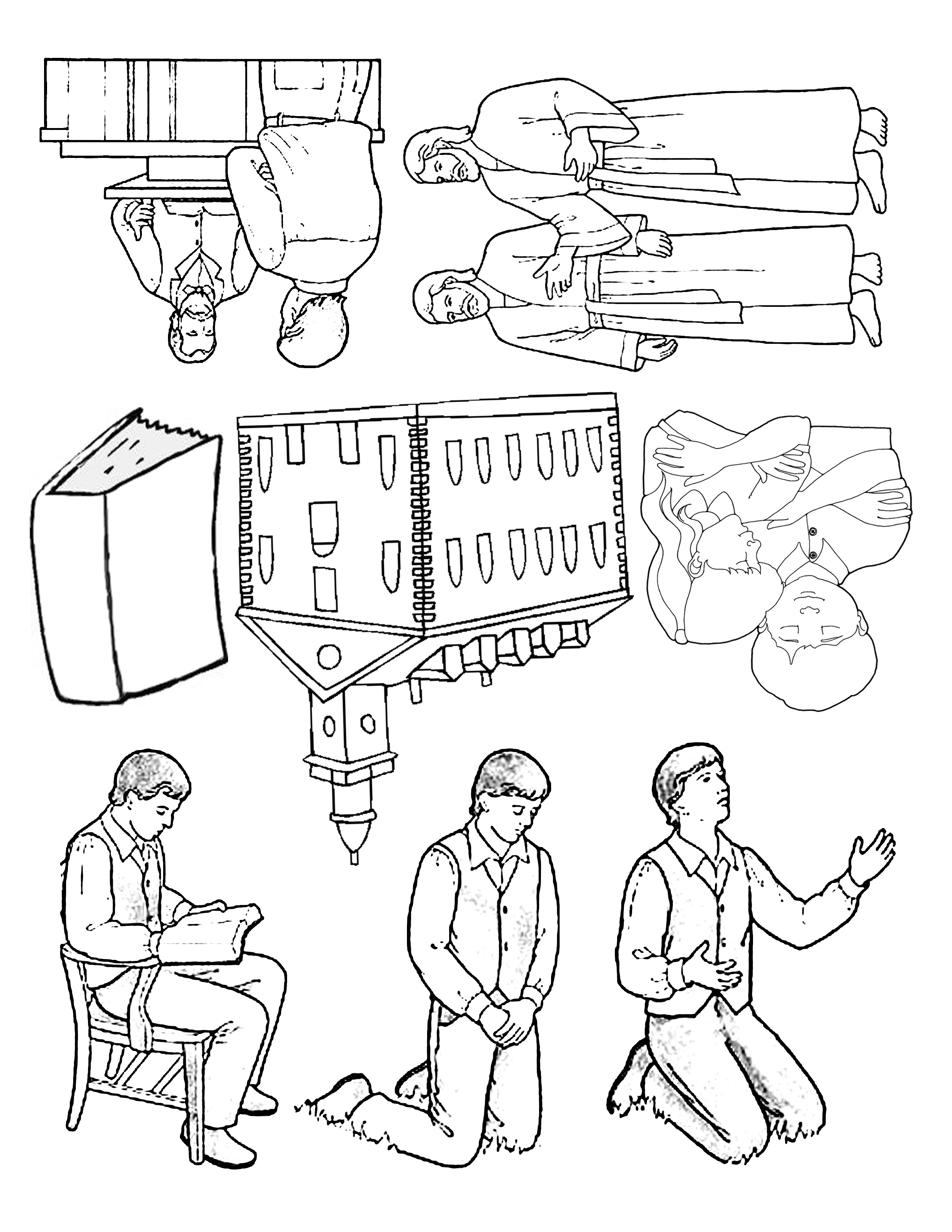 first vision coloring page.html