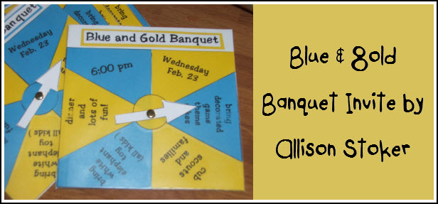 cub scout blue and gold program template - cub scout blue gold banquet dinner invitation printable
